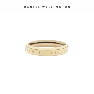 【Daniel Wellington】官方直營 Classic Ring 經典奢華戒指 香檳金 DW配飾