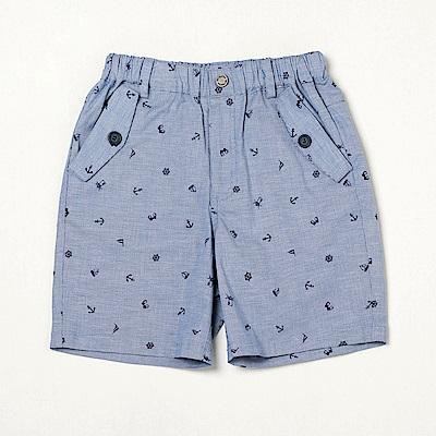 PIPPY 海洋印花短褲 藍