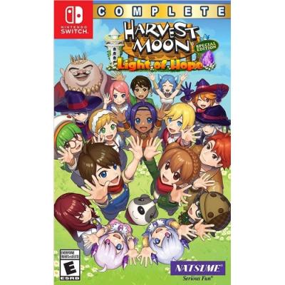 豐收之月:希望之光 特別完整版 Harvest Moon - NS Switch 英文美版