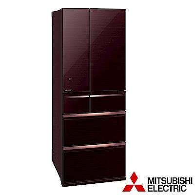 (贈好禮) MITSUBISHI三菱 605L 1級變頻6門電冰箱 MR-WX61C 日本原裝