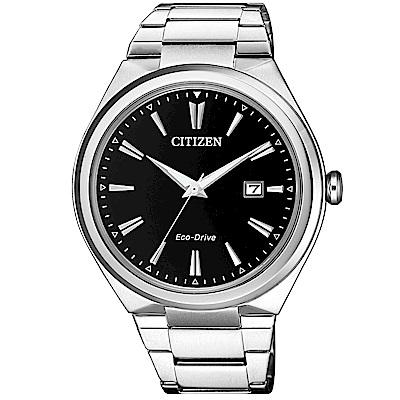 CITIZEN 星辰/簡約風格光動能時尚腕錶/AW1370-51F