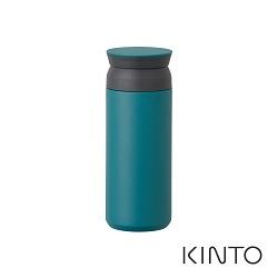 日本KINTO 隨行保溫瓶500ml-藍綠