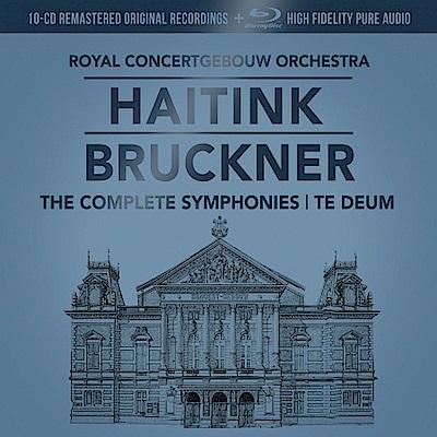 布魯克納交響曲全集10CD+藍光音樂片(10CD)