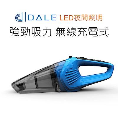 日本達樂DALE LED無線手持乾溼兩用吸塵器(K-5 藍色)