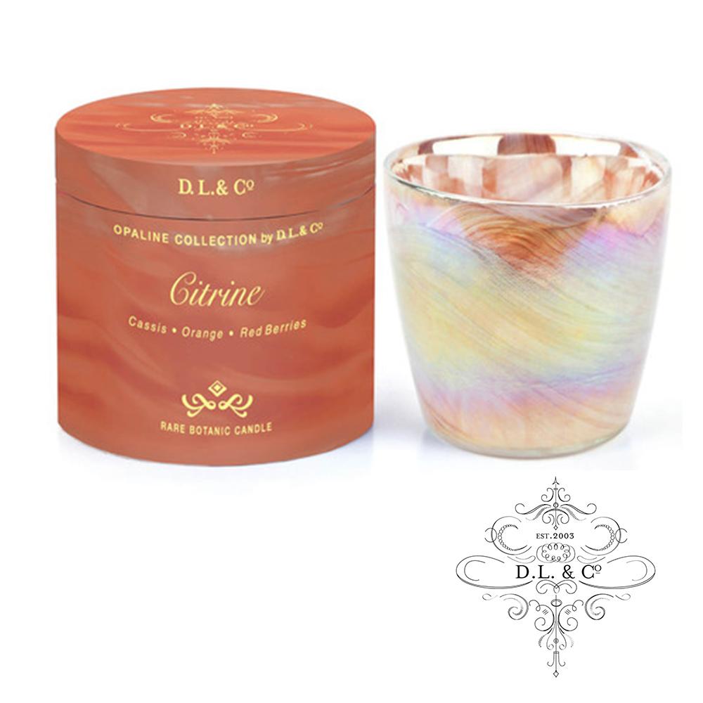 美國 D.L. & CO. 經典乳白光石系列 茶晶 香氛禮盒 482g