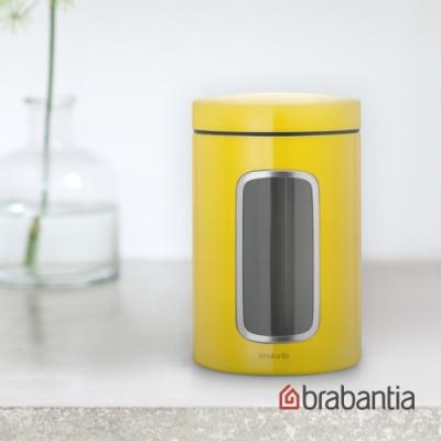 Brabantia 視窗儲物罐(亮彩黃)