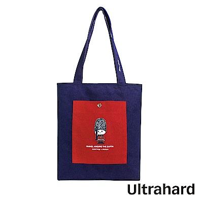 Ultrahard 月見兔A4肩背包系列- 小騎兵(大英藍)