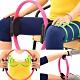 有氧美型彈力韻律圈  /健身圈美腿夾瑜珈圈美體圈.健身環-快 product thumbnail 1
