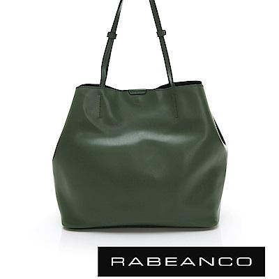 RABEANCO HARI 大容量子母手提袋 暗雲杉綠