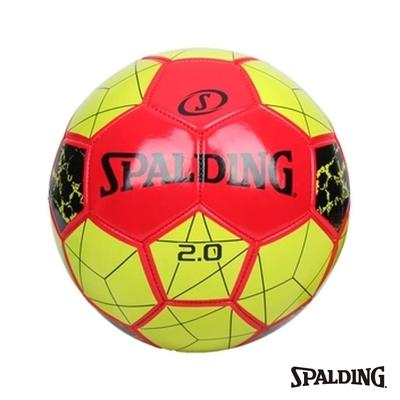 SPALDING  2.0 足球 紅/黃 #5