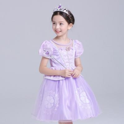 Kori Deer 可莉鹿 蘇菲亞蓬裙及膝裙公主服 女童萬聖節派對變裝禮服造型攝影