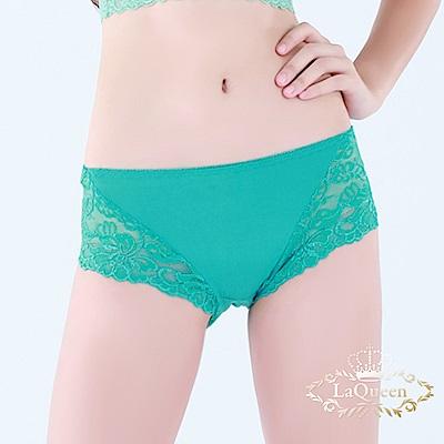 內褲 親膚零著感包覆褲-綠 La Queen