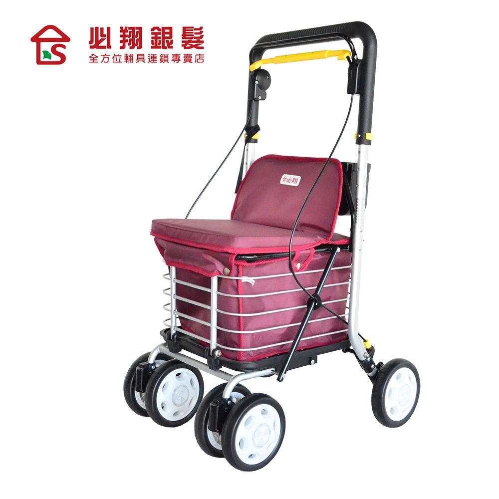 必翔銀髮 菜籃型購物車-F-619N