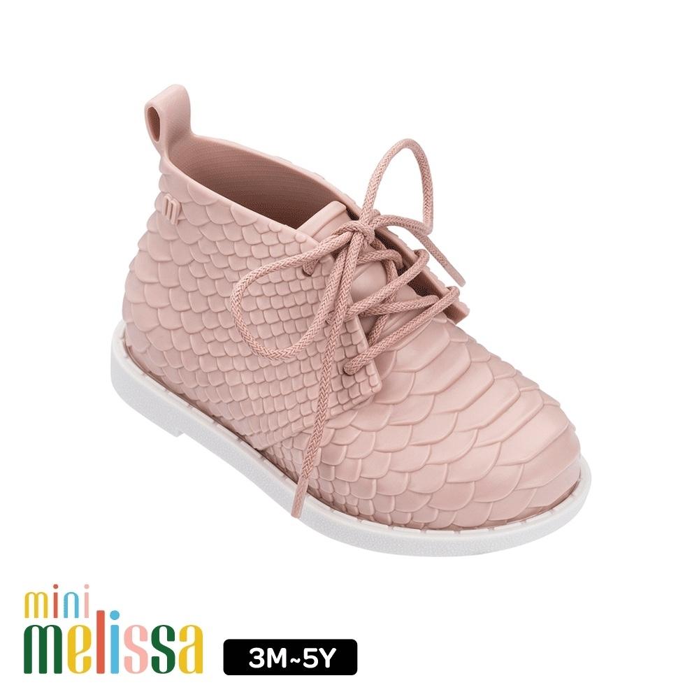 Melissa Baby Melissa+Baja East 凸紋質低筒靴 粉