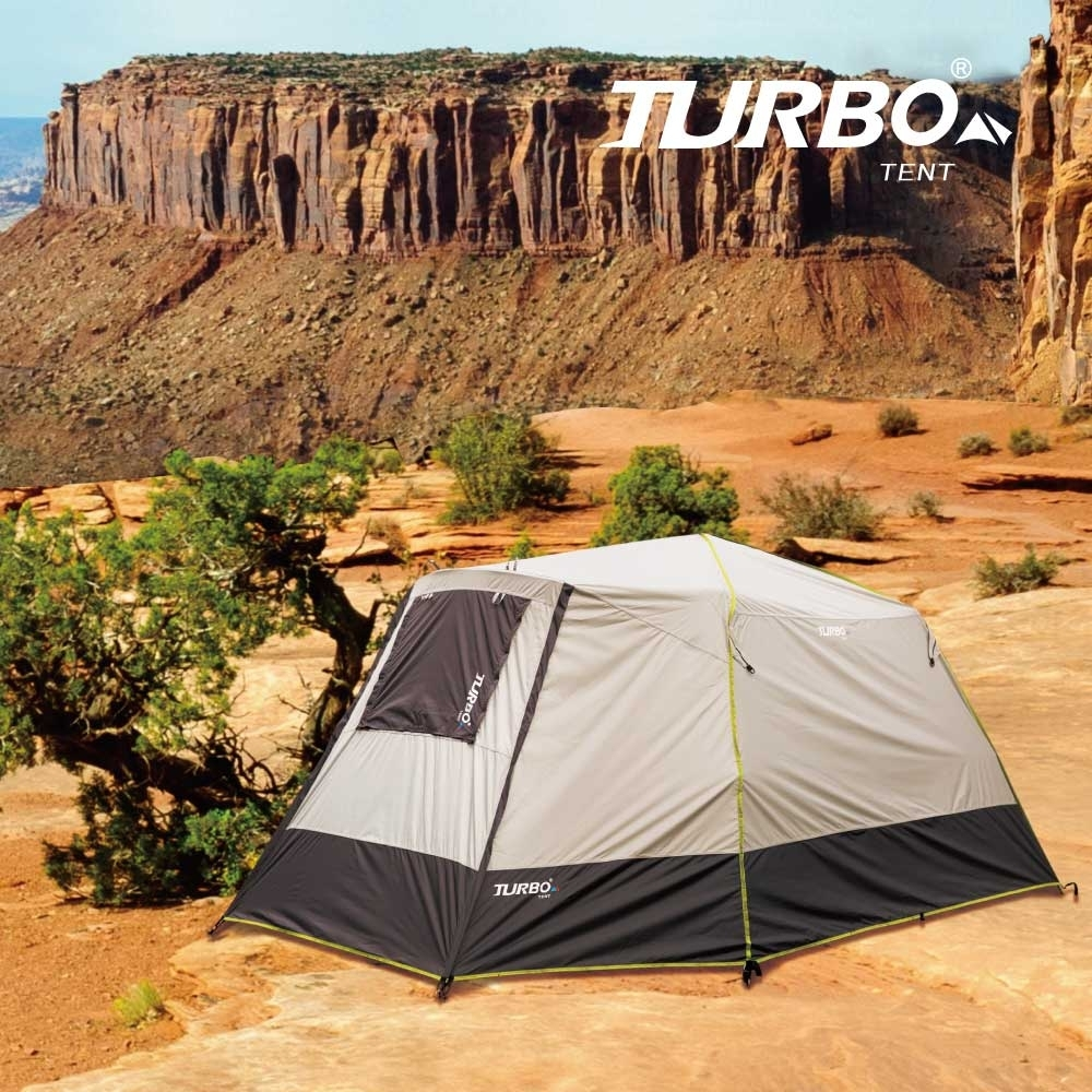 【Turbo Tent】Nomad 270遊牧民族六人帳篷-2020強化版(全遮光 類黑膠)