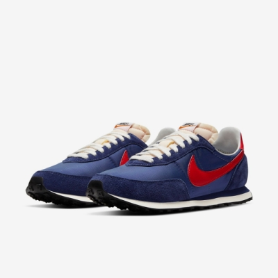 Nike 休閒鞋 Waffle Trainer 2 男女鞋 基本款 簡約 舒適 情侶穿搭 球鞋 藍 紅 DB3004400
