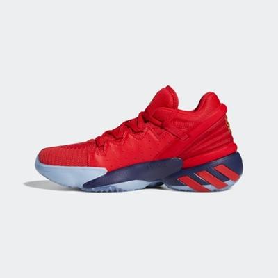 ADIDAS D.O.N. Issue 2 GCA  男籃球鞋-紅藍-FZ1448