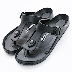 Roadpacer 男女休閒拖鞋 BS021BLK 黑