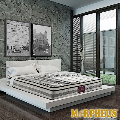 夢菲思 真三線天絲棉+竹碳紗+羊毛+透氣強化蜂巢式獨立筒床墊-雙人5尺
