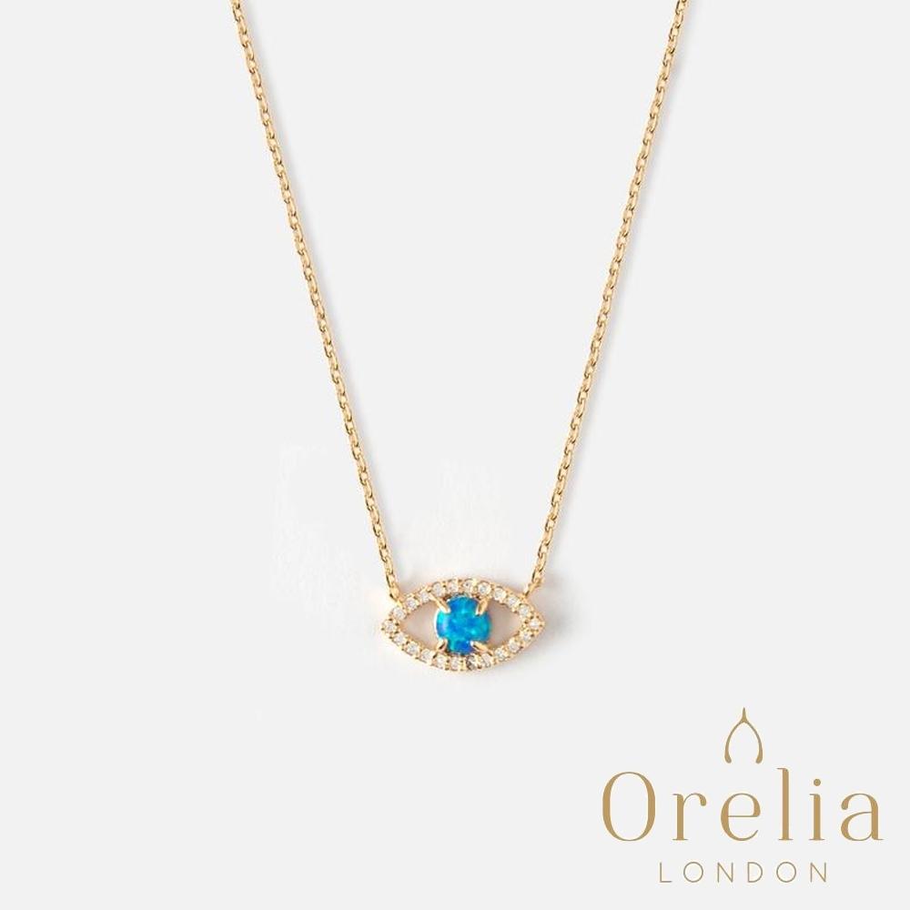 Orelia 英國倫敦 守護睛靈鍍金項鍊