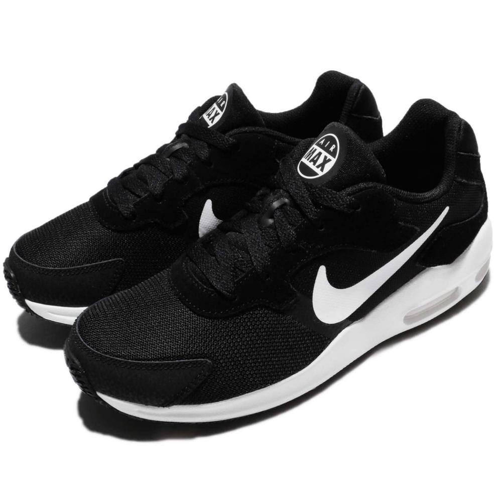 Nike 休閒鞋 Wmns Air Max Guile 女鞋 球鞋 慢跑 運動 穿搭 黑底白勾 氣墊 黑 白  916787003