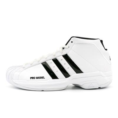 ADIDAS Pro Model 2G 男籃球鞋-白-FW4344