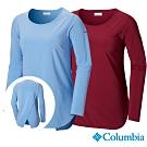 Columbia 哥倫比亞 女款-UPF30快排長袖上衣-2色