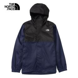 The North Face北面男款藍黑色防水