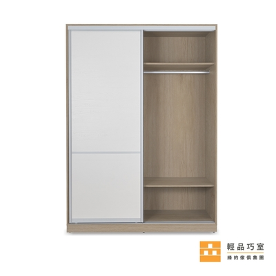 【輕品巧室-綠的傢俱集團】積木系列泥橡-系統推拉門儲物櫃(衣櫃/儲物櫃)