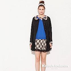 【Kinloch Anderson 金安德森女裝】V領前飾蝴蝶結上衣
