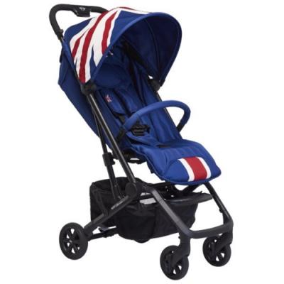 【荷蘭 Easywalker】MINI BUGGY XS 嬰兒手推車/三折傘車(經典藍)