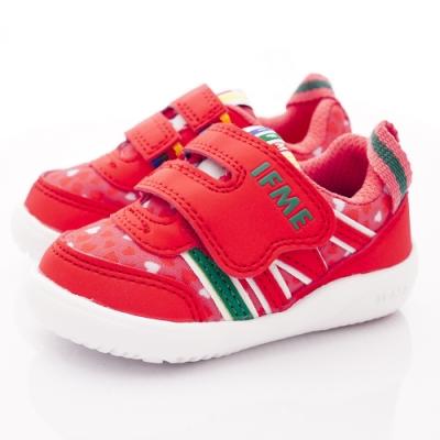 IFME健康機能鞋 桃心輕量學步鞋款 NI7SA1桃紅(寶寶段)