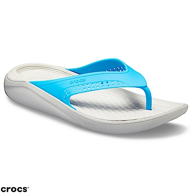 Crocs 卡駱馳 (中性鞋) LiteRide人字拖 205182-4D7