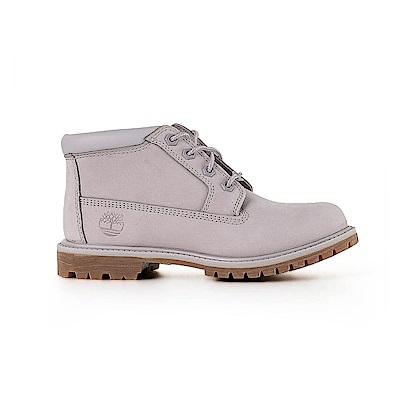 Timberland 女款灰色正絨面皮革Nellie靴 | A1S7RN99