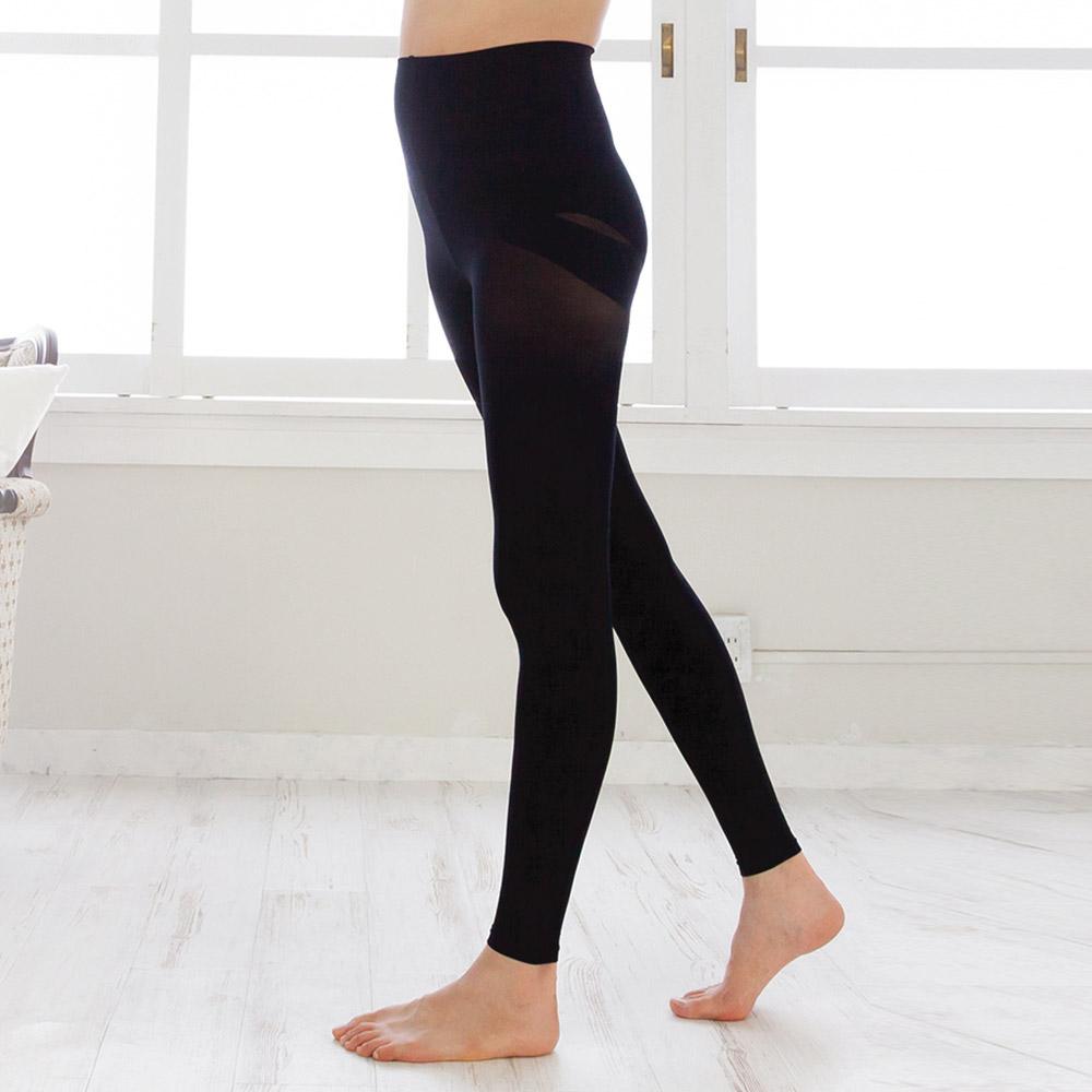 日本犬印 骨盆型漸變壓力褲(70丹) M~L/L~LL 黑色