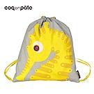 【COQENPATE】法國有機棉無毒環保布包 - 童趣輕鬆包- 海馬