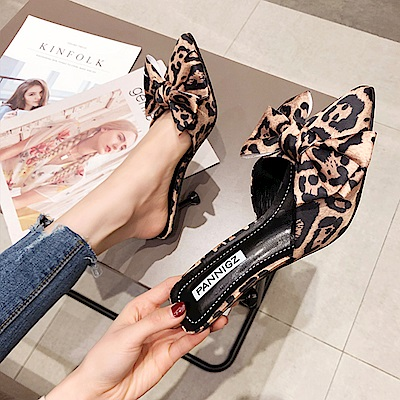 KEITH-WILL時尚鞋館 流行穿搭不敗經典個性穆勒鞋-咖啡色