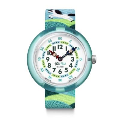 FlikFlak 兒童錶 PONY DAY 奔跑吧小馬-31.85mm