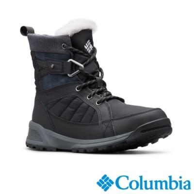 Columbia 哥倫比亞 女款- Omni TECH防水3D保暖雪靴-黑色