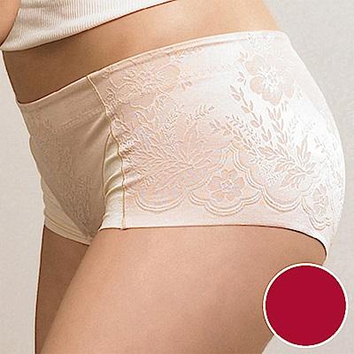 華歌爾 BABY HIP 64-76 低腰短管修飾褲(深玫紅)