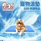 PurreCat 寵物涼墊L號 正藍色 貓狗冰墊 筆電散熱 降溫/消暑/涼感 product thumbnail 1