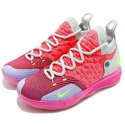 Nike 籃球鞋 KD11 運動 女鞋