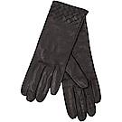 BOTTEGA VENETA 納帕編織羊皮手套(黑色)