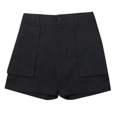 paul frank 織帶西裝短褲-黑(女)