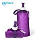 韓國sillymann-100%時尚便攜捲式鉑金矽膠水瓶-550ml-星空紫 product thumbnail 1