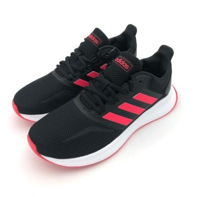 ADIDAS RUNFALCON 女 跑步鞋 黑紅