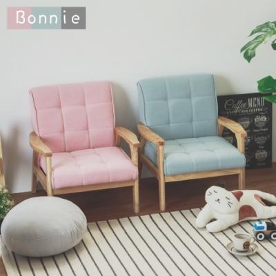 (限時下殺) Home Feeling 日系兒童沙發/單人座/布沙發(4色)-DIY