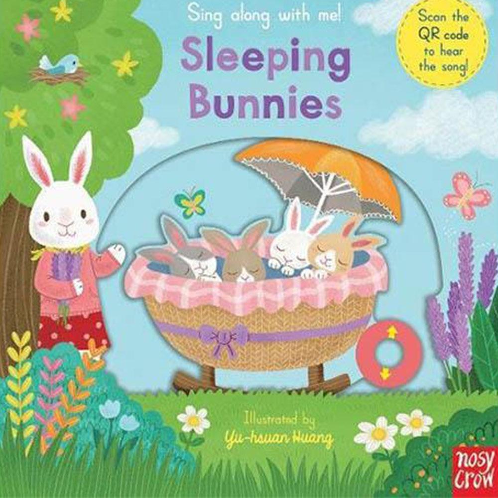 Sleeping Bunnies 小兔兔快起床童謠歌唱操作書(英國版)