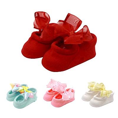 WHY AND 1/2 mini 蝴蝶結寶寶鞋襪 多色可選