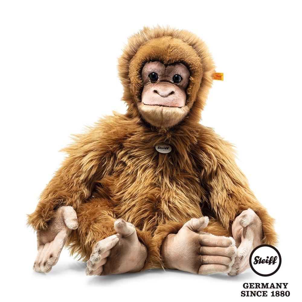 STEIFF德國金耳釦泰迪熊  Alena Orang Utan monkey  紅毛猩猩 (動物王國) 26cm